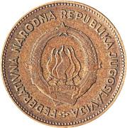 50 Dinara (FNR legend) -  obverse