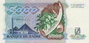 5 000 Zaires -  reverse