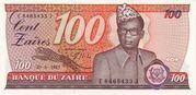 100 Zaïres -  obverse