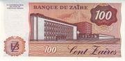 100 Zaïres – reverse