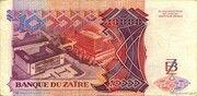 10 000 Zaïres – reverse