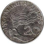 20 Makuta – reverse