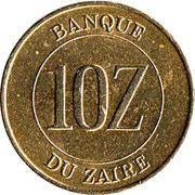 10 Zaïre – reverse
