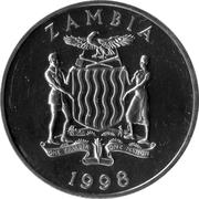 100 Kwacha (Lion) – obverse