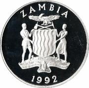100 Kwacha (1992 Olympics) – obverse