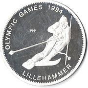 20 Kwacha (1994 Olympics) – reverse