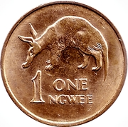 1 Ngwee – reverse