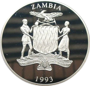 250 Kwacha (African Fish Eagle) – obverse