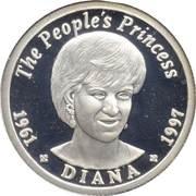 75 Kwacha (Princess Diana Silver Proof) – reverse