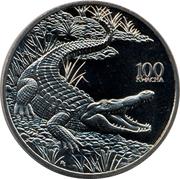 100 Kwacha (Crocodile) – reverse