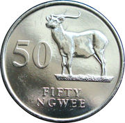 50 Ngwee -  reverse