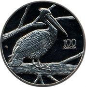 100 Kwacha (Pelican) – reverse