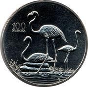 100 Kwacha (Greater Flamingo) – reverse