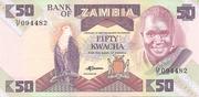 50 Kwacha -  obverse