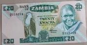 20 Kwacha – obverse
