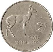 2 Shillings – reverse