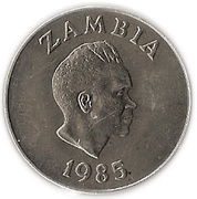 20 Ngwee (Bank of Zambia) – obverse