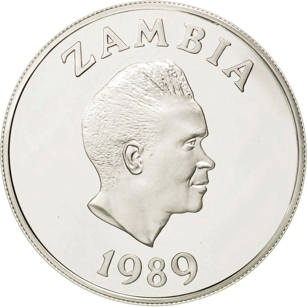 Zambia P-31 10 Kwacha Year ND 1989-1991 Uncirculated Banknote