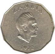 50 Ngwee (FAO) – obverse