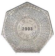 1000 Kwacha (Year Calendar) -  reverse