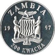200 Kwacha (Princess Diana) – obverse