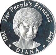 200 Kwacha (Princess Diana) – reverse