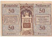 50 Heller (Zeillern) -  obverse