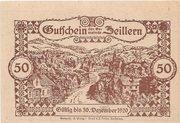 50 Heller (Zeillern) -  reverse