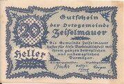 20 Heller (Zeiselmauer) – obverse
