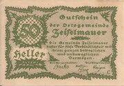 50 Heller (Zeiselmauer) – obverse
