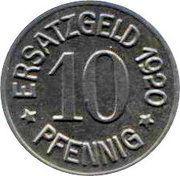 10 Pfennig - Zeitz -  obverse