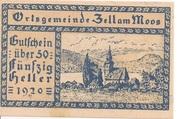 50 Heller (Zell am Moos) -  obverse