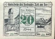 20 Heller (Zell am See) -  obverse
