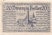 20 Heller (Zell an der Pram) -  obverse