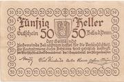 50 Heller (Zell an der Pram) – reverse