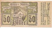 50 Heller (Zell an der Ybbs) -  obverse