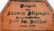 10 Heller (Zell bei Zellhof; Ludwig Altzinger) -  obverse