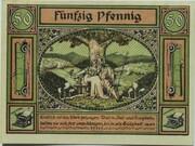 50 Pfennig (Unification Series) – reverse