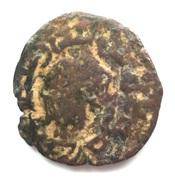 Fals - al-Salih Isma'il (Zengid of Syria - Halab - Roman style bust right) – obverse