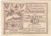 10 Heller (Ziersdorf) -  obverse