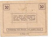 20 Heller (Ziersdorf) -  reverse
