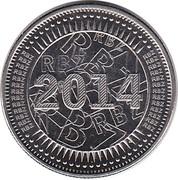 25 Cents (Bond Coin) -  obverse