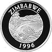 10 Dollars (Kariba Dam) – obverse