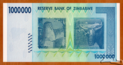 1 000 000 Dollars – reverse