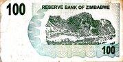 100 Dollars (Bearer Cheque) – reverse