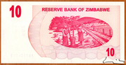 10 Dollars (Bearer Cheque) – reverse
