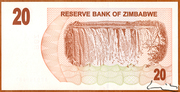 20 Dollars (Bearer Cheque) – reverse