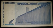 100 000 000 000 Dollars (Special Agro-Cheque) – reverse