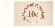 10 Cents (Bearer Cheque) – reverse