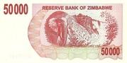 50 000 Dollars (Bearer Cheque) – reverse